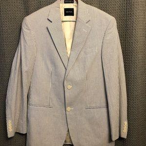 Nautica Suits & Blazers - Nautica Searsucker Blazer Size 38r